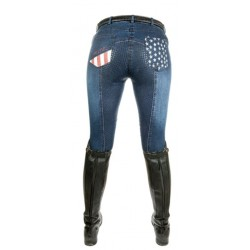 Denim Rijbroek Stars & Stripes (Mt. 46)