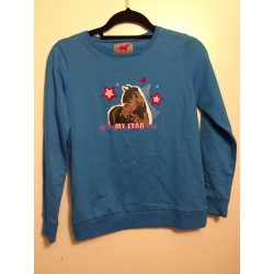 Red Horse Sweatshirt Fancy (Mt. 164)